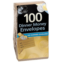 Chiltern Wove Dinner Money Envelopes