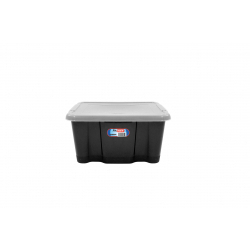 Premier Storage Box Black Base And Clear Lid