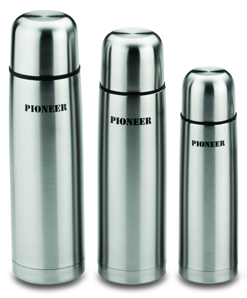 Pioneer 0.5L Vacuum Flask - Stainless Steel