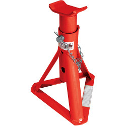 Streetwize Pair of Adjustable Fixed Base Axle Stands