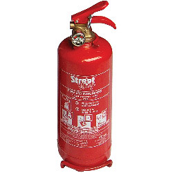 Streetwize Dry Powder ABO Fire Extinguisher with Gauge - 2kg