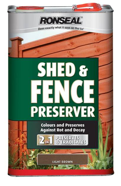 Ronseal Shed Fence Preserver 5l Stax Trade Centres