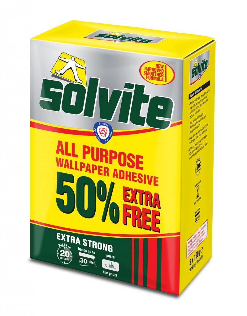 Solvite All Purpose Wallpaper Adhesive Stax Trade Centres