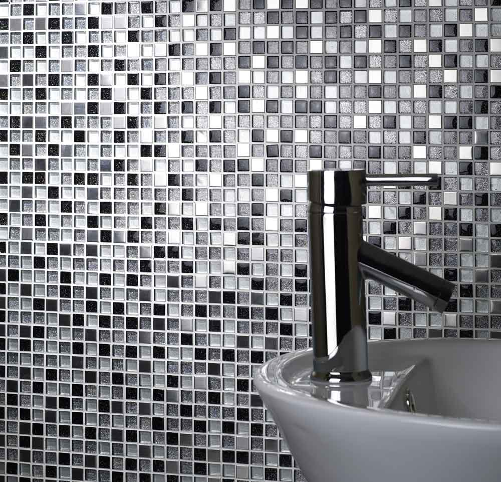 Verona Mosaic Sheet 300 x 300mm - Sparkle