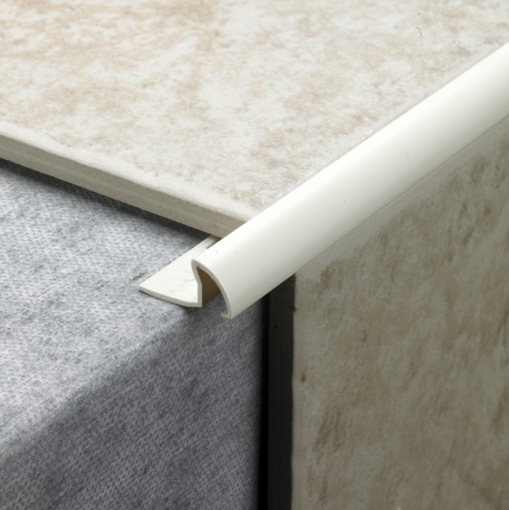 Tile Rite Tile Trim - 2.4m x 9.5mm Peach