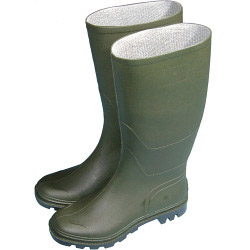 Town & Country Essentials Full Length Wellington Boots - Green - UK Size 10 - Euro Size 44