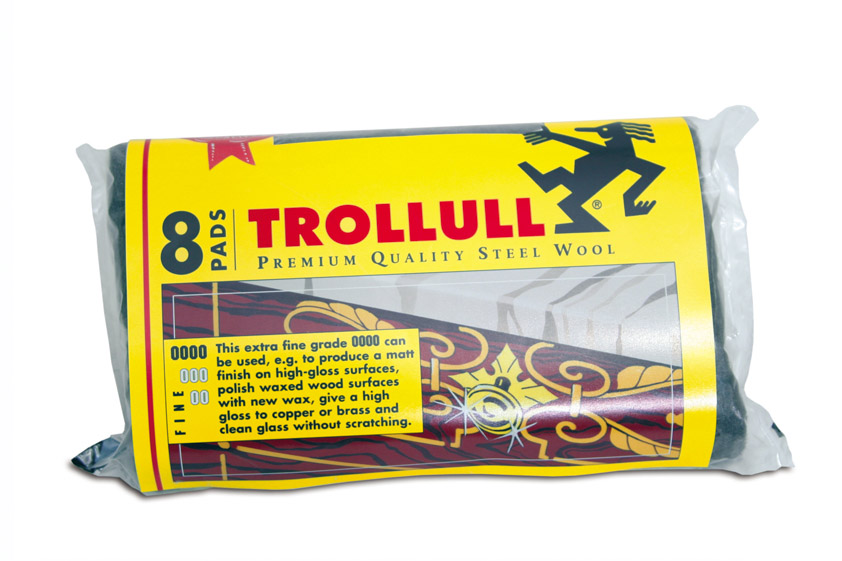 Trollull Utility Pads Grade 00 - 8 Pads