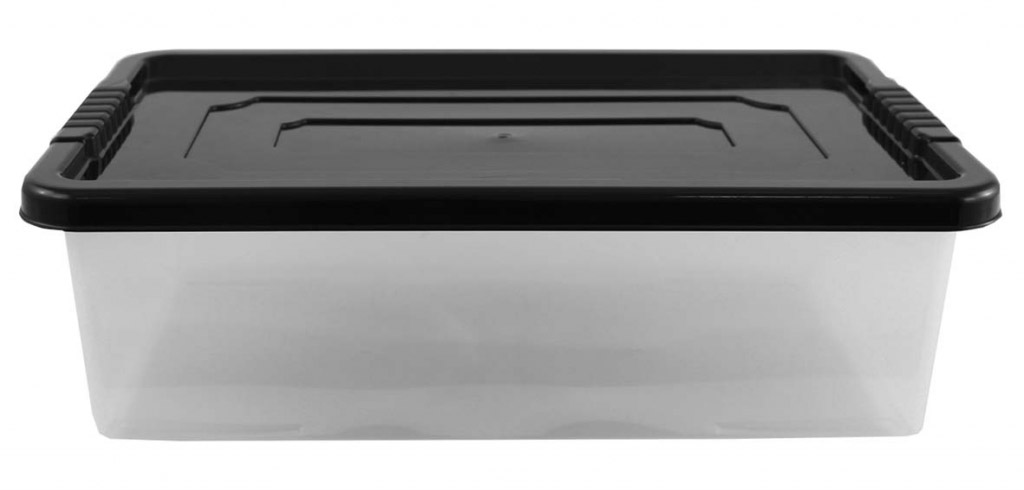 TML 32L Underbed Storage Box - With Ebony Lid