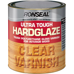 Ronseal Ultra Tough Varnish Hard Glaze - 2.5ml