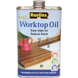 Rustins Quick Dry Worktop Oil - 500ml