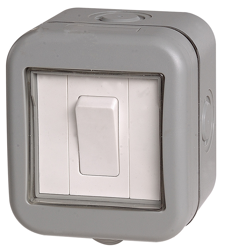 BG Weatherproof IP55 20A 1 Gang Switch
