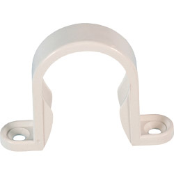 Polypipe Pipe Clip - 32mm White