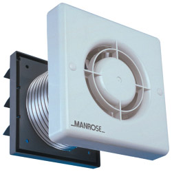 Manrose Extractor Fan + Timer - 4""