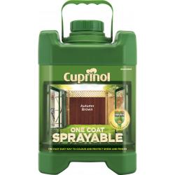 Cuprinol Sprayable Fence Treatment 5L Forest Oak