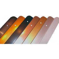 Rolabond 40mm Worktop Trim Straight Joint Bright Silver