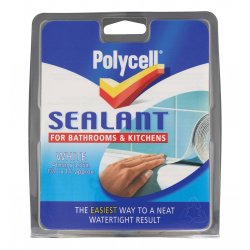 Polycell Sealant Strip White 41mm
