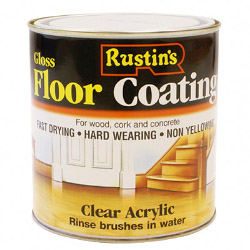 Rustins Quick Dry Floor Varnish Gloss 1L