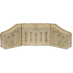 Percy Doughty Coal Saver - Back Bricks - 9""