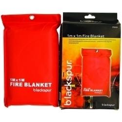 Blackspur Fire Blanket 1M x 1M