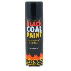 Percy Doughty Gas Fire Coal Spray Paint - 300ml