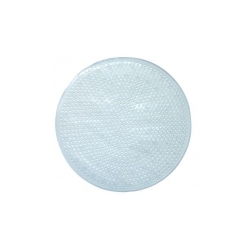 Blue Canyon Quadrant Bath Mat - White