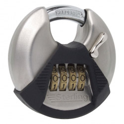 Sterling 70mm Combination Disc Padlock