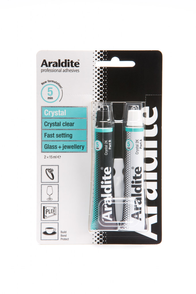 Araldite Rapid Ceramic & Glass - 2 x 15ml Tubes