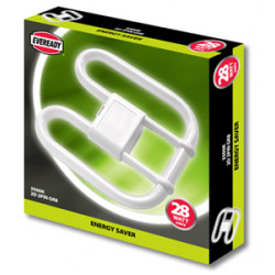 Eveready 28w 4 Pin Energy Saving 2D Lamp