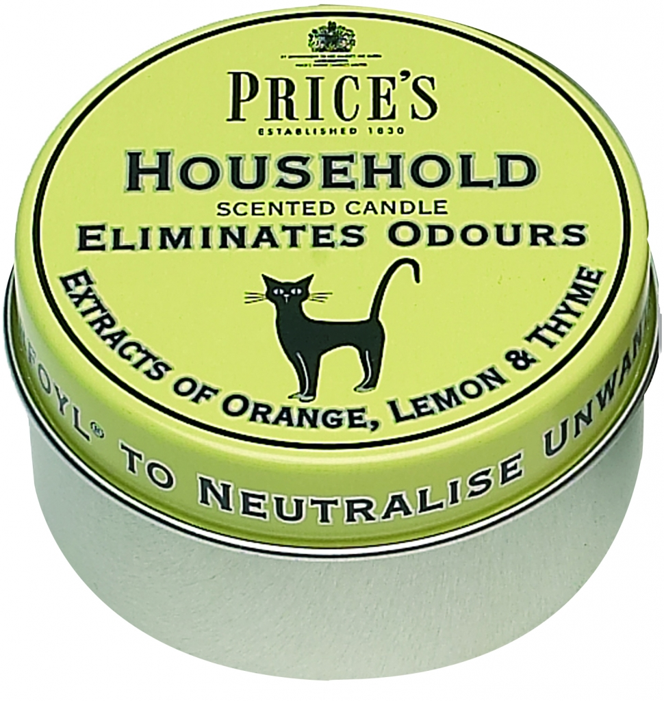 Price's Candles Household Tin - Scented