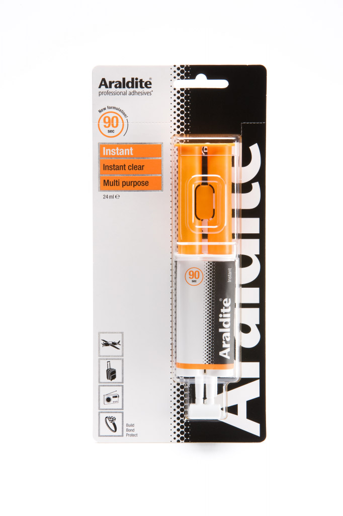 Araldite Instant Clear - 24ml Syringe