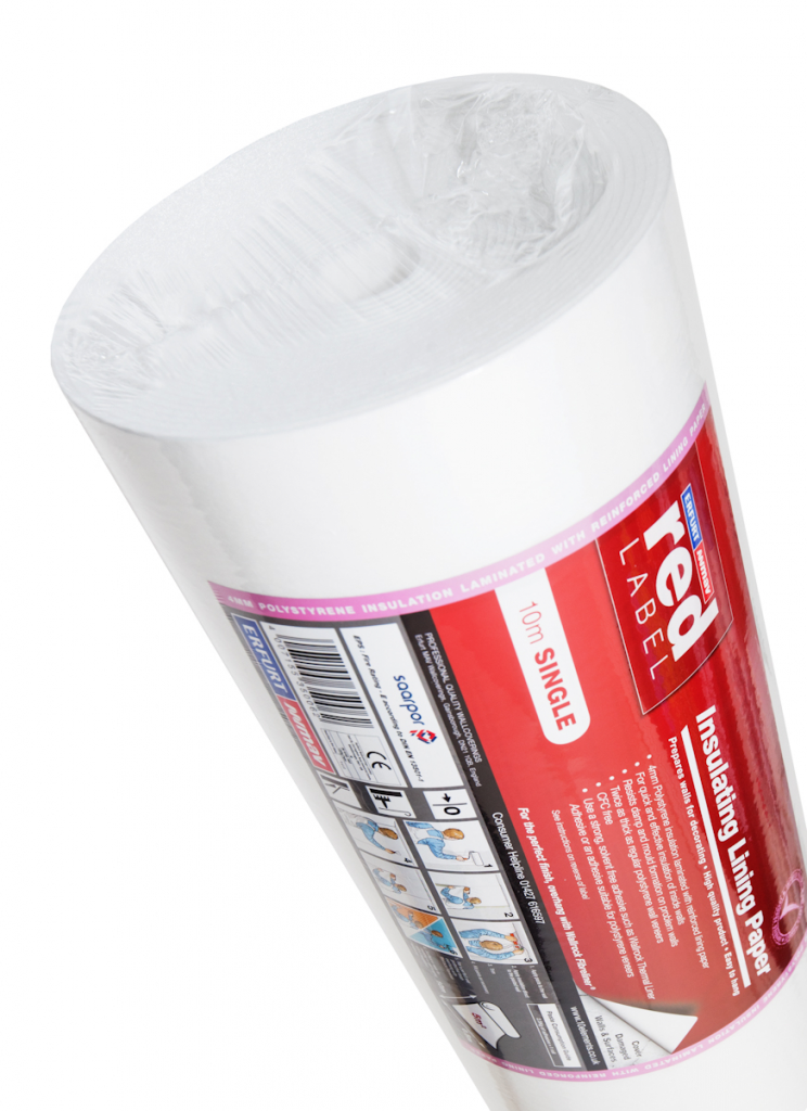 Erfurt 4mm Insulated Lining Paper - 10m