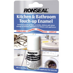 Ronseal Kitchen and Bathroom Touch-Up Enamel 10ml