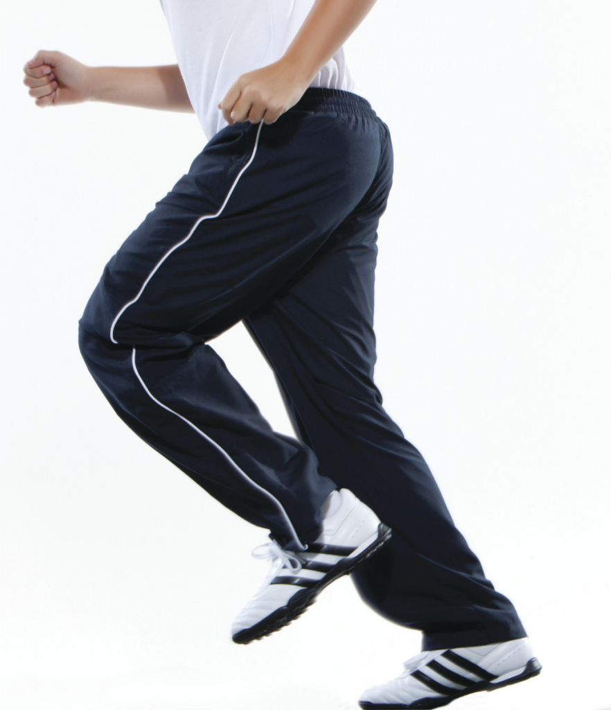 Track Pants Navy White - Small