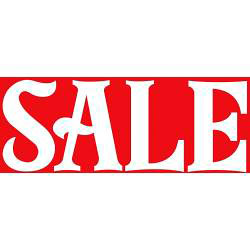 Hi-Glo Large Sale Poster - Single