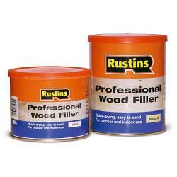 Rustins Professional Wood Filler 250g Natural