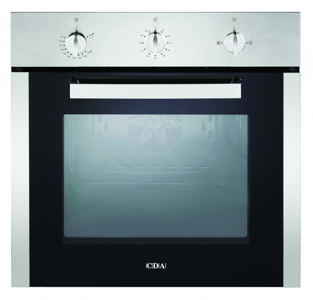CDA Stainless Steel Single Gas Fan Oven