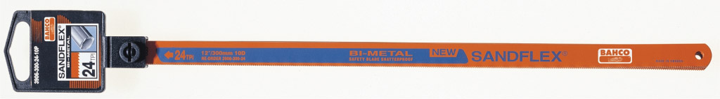 "Bahco Sandflex Bi Metal Hacksaw Blade - 12.5"" 24 TPI"