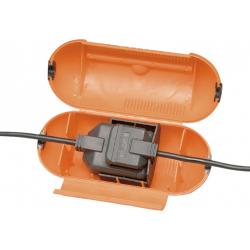 Masterplug Splashproof Plug and One Gang Socket Cover
