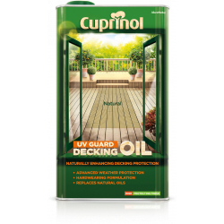 Cuprinol UV Guard Decking Oil 5L Natural