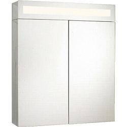 SP Colbert Illuminated Mirrored Cabinet 600mm - W: 600mm H: 700mm D: 155mm