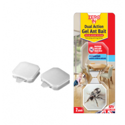 Zero In Dual Action Ant Bait Gel Twinpack